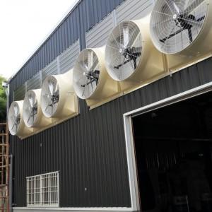 兆均通風工程施工案例