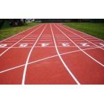 尚彩企業有限公司  木地板整修,20年專業跑道球場標線劃線