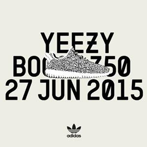 YEEZY 350 Boost 27 Jun 2015